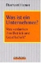 Was ist ein Unternehmer?